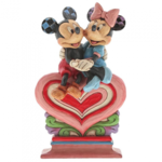 Heart to Heart (Mickey Mouse & Minnie Mouse Figurine)