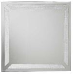 Glamour Silver Mirror 60x60