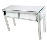 Glamour 2 Drawer Console Table