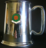CELTIC FG386FC Stainless Steel Tankard  Made In UK