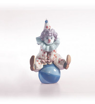 Lladro 01005813 Having A Ball - Clown on a Ball