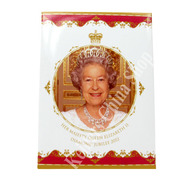 Leonardo LP18053 Her Majesty Queen Elizabeth II Diamond Jubilee 2012 Fridge Magnet Souvenir
