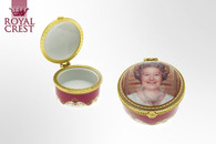 Leonardo LP18049 Her Majesty Queen Elizabeth II Diamond Jubilee 2012 Trinket Box Souvenir
