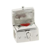 Truth Jewellery 446189 Sterling Silver 925 Charm Box Love Bead