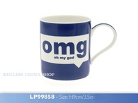 LEONARDO Mugs omg Best Friends oh my god OMG Fine China Mug LP99858 NEW