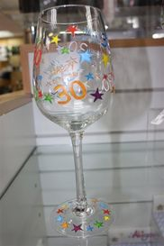 Leonardo LP33210 RAINBOW 30TH WINE GLASS