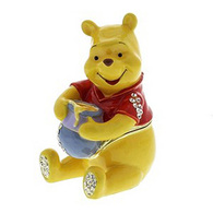 Disney DI117 WINNIE THE POOH WITH HONEY POT Trinket Box