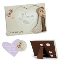 "More than Words ""ON YOUR WEDDING DAY"" Photoframe"