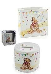 LP33239 LITTLE BEAR HUGS MONEY BOX