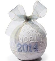 Lladro 010018389 2014 Christmas Ball