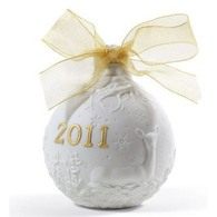 Lladro 010018346 - 2011 Christmas Ball