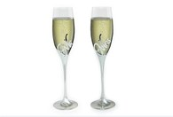 LP25935 Mr & Mrs Champagne Flutes