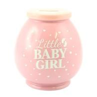 LP27851 Baby Girl Money Box