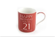 Leonardo LP33229 Happy Birthday YOU'RE 21 CHINA MUG