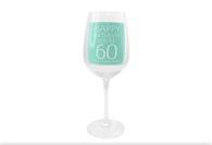 Leonardo LP33268 HAPPY BIRTHDAY You're 60 Wine Glass