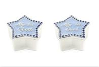 Leonardo LP23954 First Tooth & First Curl Blue Star (Silver Plated)