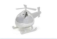 Leonardo LP24923 Helicopter Money Box (Silver Plated)