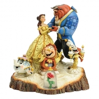 Tale as Old as Time (Carved by Heart Beauty & The Beast) - Disney Traditions