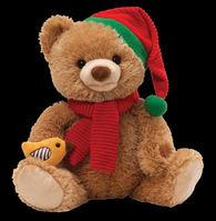 Christmas Caroling Musical Bear by Gund 4036404