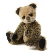 "Mini Mohair Keyrings WELLY MINI MOHAIR KEYRING BEAR 5"" CBK635295C L.E.1200"