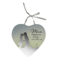 Reflections Of The Heart Mirror Plaque MUM - Said With Sentiments