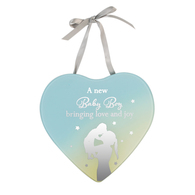 Reflections Of The Heart Mirror Plaque BABY BOY - Said With Sentiments