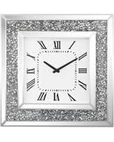DIAMOND CRUSH SPARKLE CRYSTAL WALL CLOCK £120