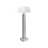 DIAMOND CRUSH SPARKLE CRYSTAL MIRRORED STANDARD LAMP (SHADES NOT INCLUDED) £250