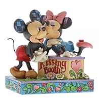 Kissing Booth (Mickey & Minnie Mouse Figurine) - Disney Traditions