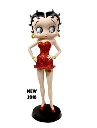 Betty Boop - Garter in Red Glitter