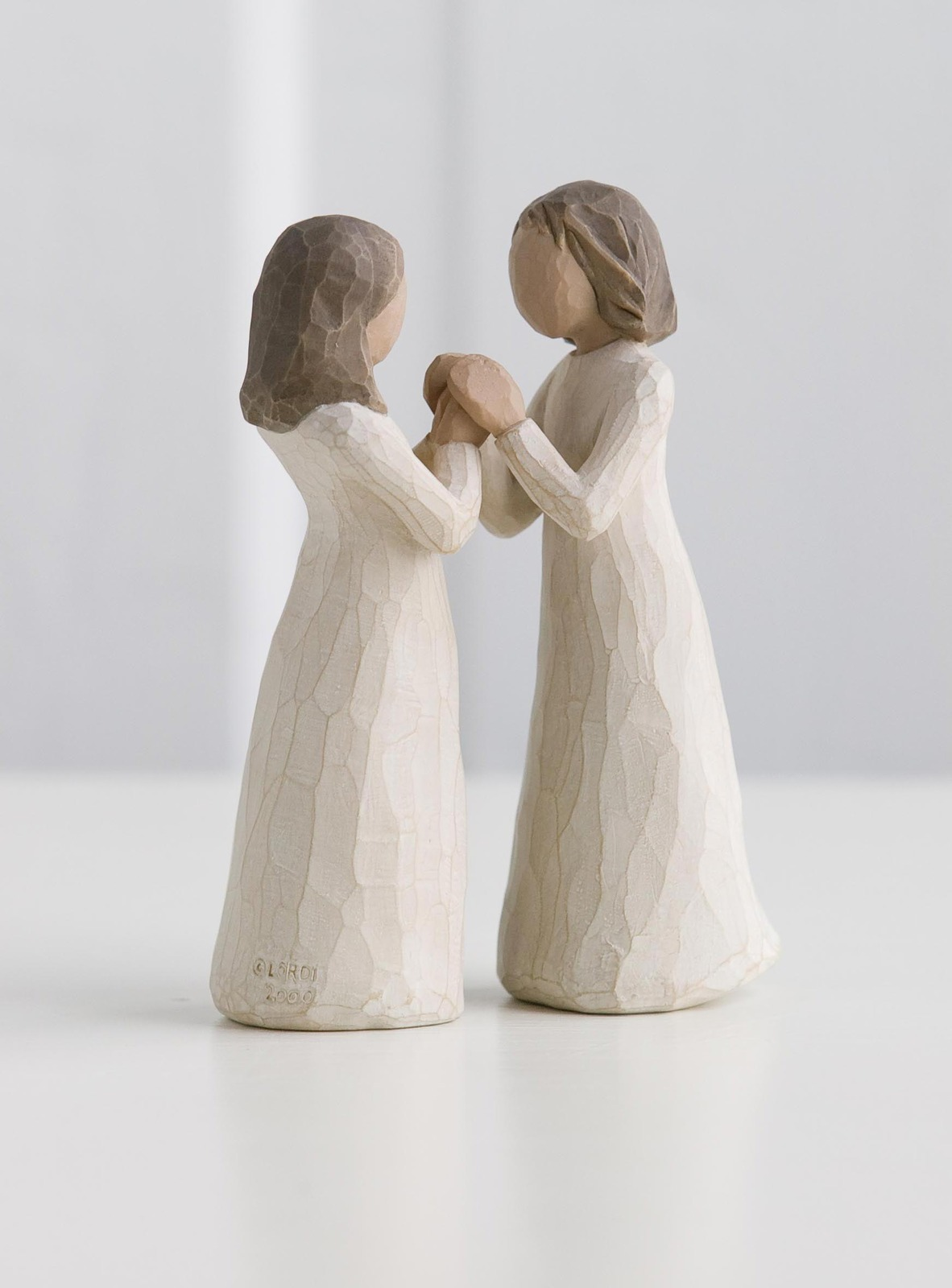 Friendship Glass Figurines