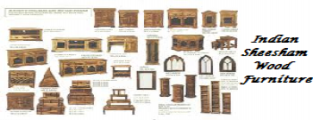INDIAN SHEESHAM FURNITURE
